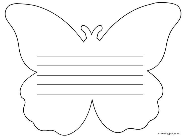Writing Paper: Butterfly | Mother's Day | Pinterest
