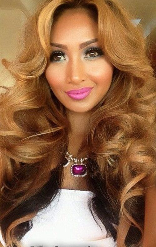 Beautiful Honey Blonde Flip Lace Front Wig | Custom Lace Full Front ...