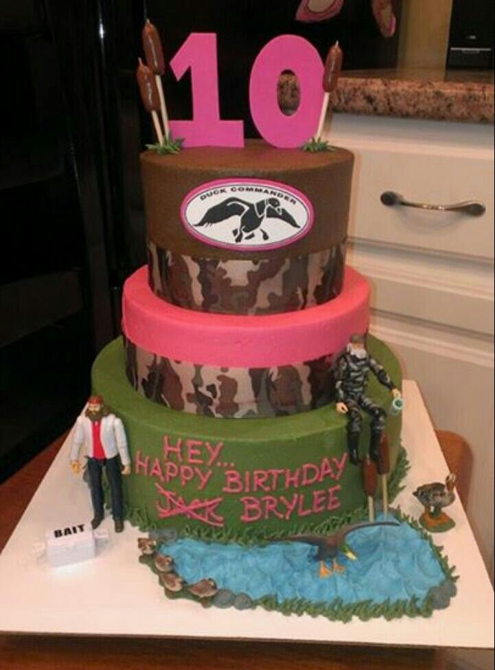 Duck Dynasty Cake by Amy Clark