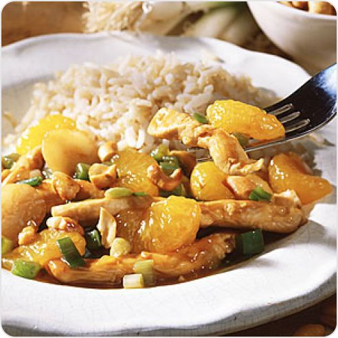 Cashew Chicken | Food: Low Sodium Recipes | Pinterest
