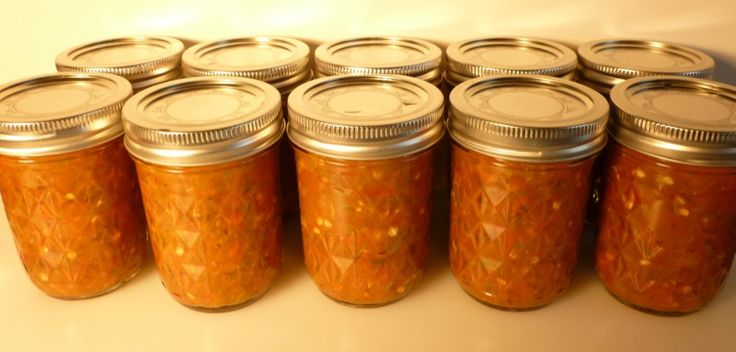 Slow burn hot pepper relish (condiment) | fresh from the garden | Pin ...