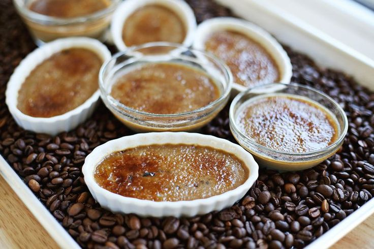 Espresso creme brulee (click through for recipe). Lovely.