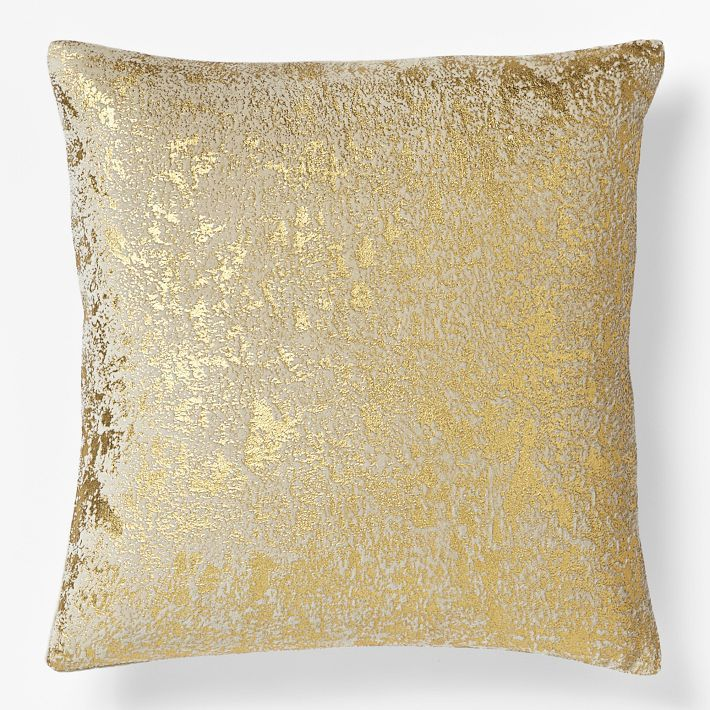 Throw Pillows Gif : Gold throw pillow {West Elm} Weddings and homes Pinterest