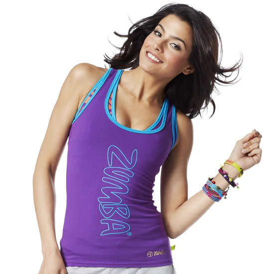 Rock With Me Racerback | Zumba Fitness Shop