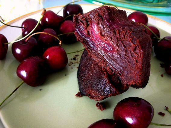 Chocolate Cherry Brownie | Products I Love | Pinterest