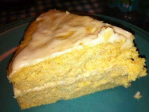 layered lemon yogurt cake | Original Recipes | Pinterest