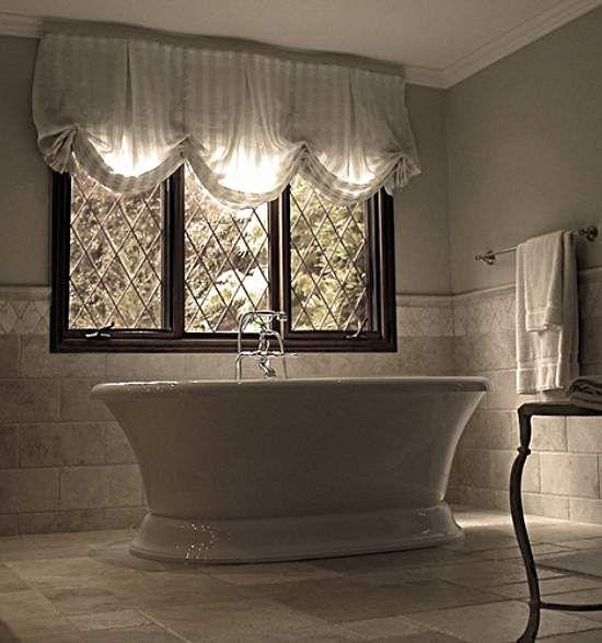 Bathroom Window Treatments For The Home Pinterest