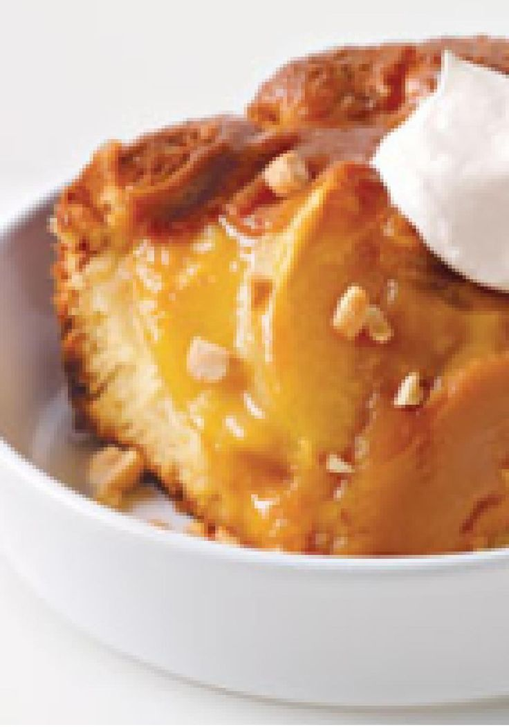 Warm Caramel Apple Pudding Cake — Love apple desserts? Got a few ...