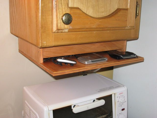 Under Cabinet Charging Station Around The House Pinterest
