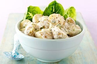 Tzatziki Potato Salad - healthier and lower in calories than normal ...