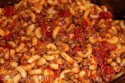 Basic Ground Beef American Goulash - a quick and easy ground beef ...