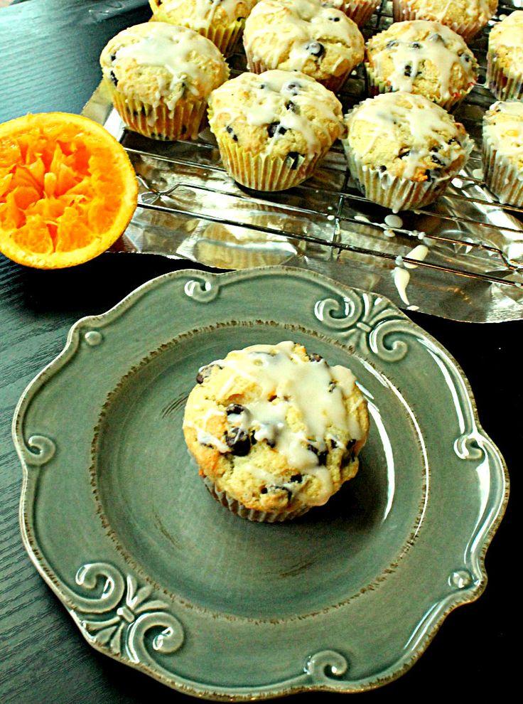 Orange Ricotta Chocolate Chip Muffins | Breakfast Ideas | Pinterest