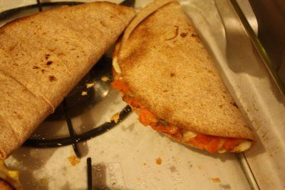 Curried Sweet Potato Quesadillas | My kind of food. | Pinterest