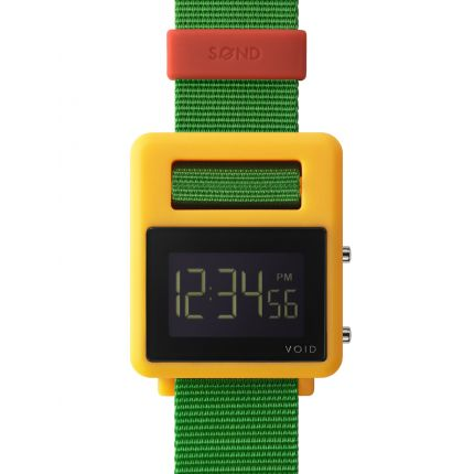 SOND Watch - Yellow/Green/Red