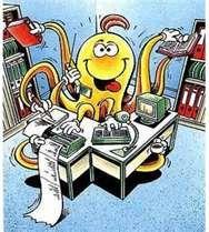 Organiz-o, the Multitasker - remind you of anyone?