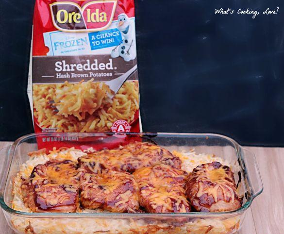 Barbecue Chicken Hash Brown Casserole | Recipe