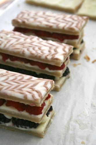 napoleons | Bakery Shop Pastries | Pinterest