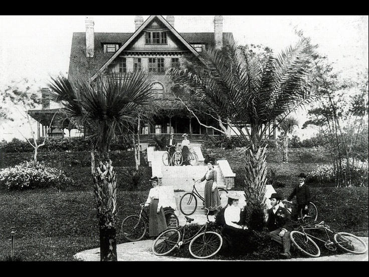 12 cottages were built on the Belleview Biltmore grounds. This picture is the Magnolia Cottage