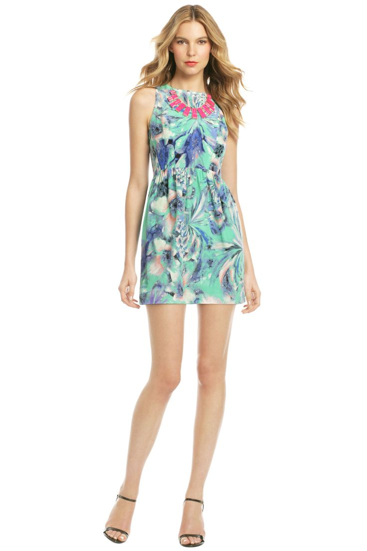 Cute Backyard Party Outfits : Dress by Shoshanna would be so cute for a backyard or garden party