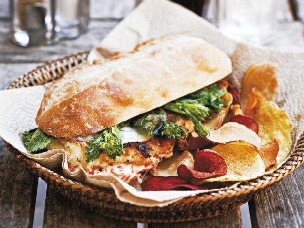 Cook the Book: Philly-Style Chicken Cutlet Sandwich | Recipe