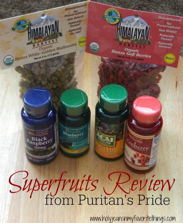 Puritan39;s Pride Superfruits Review Plus a B1G2 FREE Sale