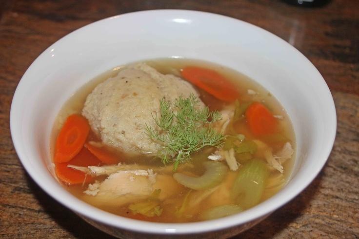 Chicken Soup With Matzo Balls Recipes — Dishmaps