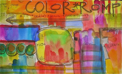 Learn to watercolor with a color romp
