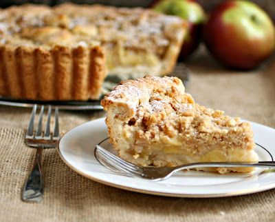 Hungry Couple: Deep Dish Dutch Apple Pie with Peanut Butter Streusel