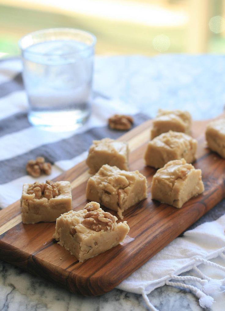Maple Walnut Fudge | Girl Cooks World. Not my recipe but I think I ...