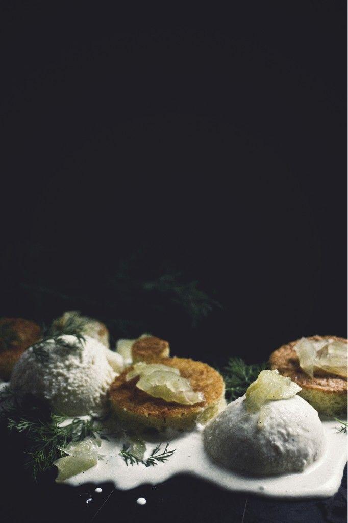 Fennel, Honey, Sea Salt Ice Cream; Chamomile Cake; Candied Fennel ...