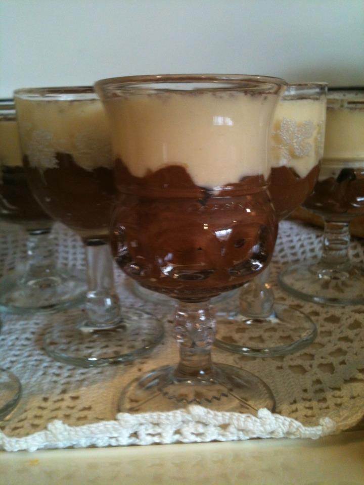 Dark and white chocolate mousse | * Chocolate Addiction ...
