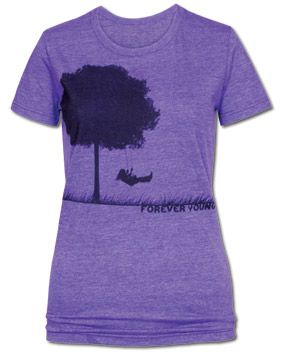 SoulFlower-NEW! Forever Young Recycled T-Shirt-$26.00