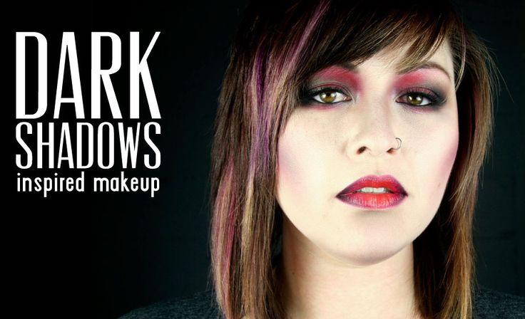 Vampire makeup How-To: Dark Shadows-Inspired Makeup | Beautylish