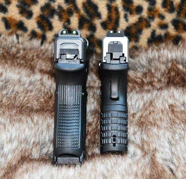 Glock 36 vs XDS 45 Width Comparison | Man Things | Pinterest