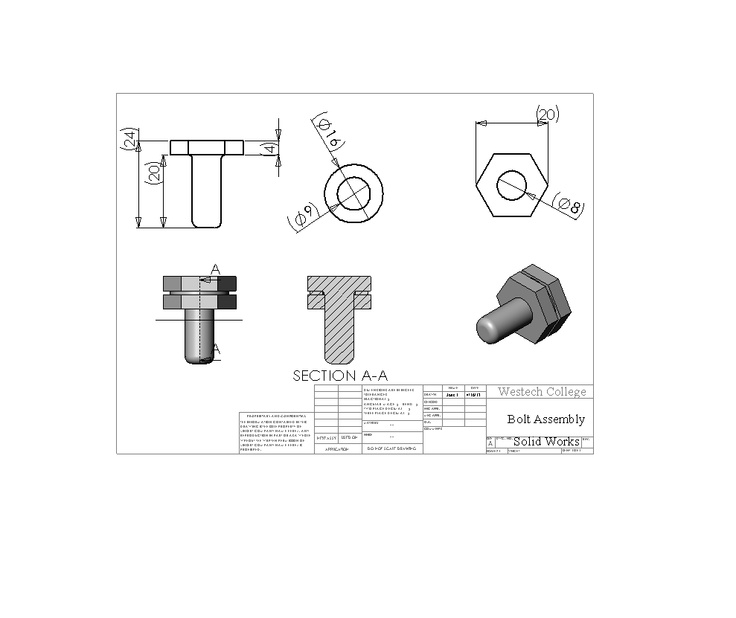 screw bolt  washer assembly