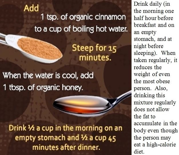 Lose weight in a week. Honey weight loss