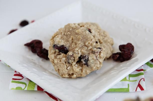 Chewy Cranberry Oatmeal Cookies. Can be made ahead and the dough ...