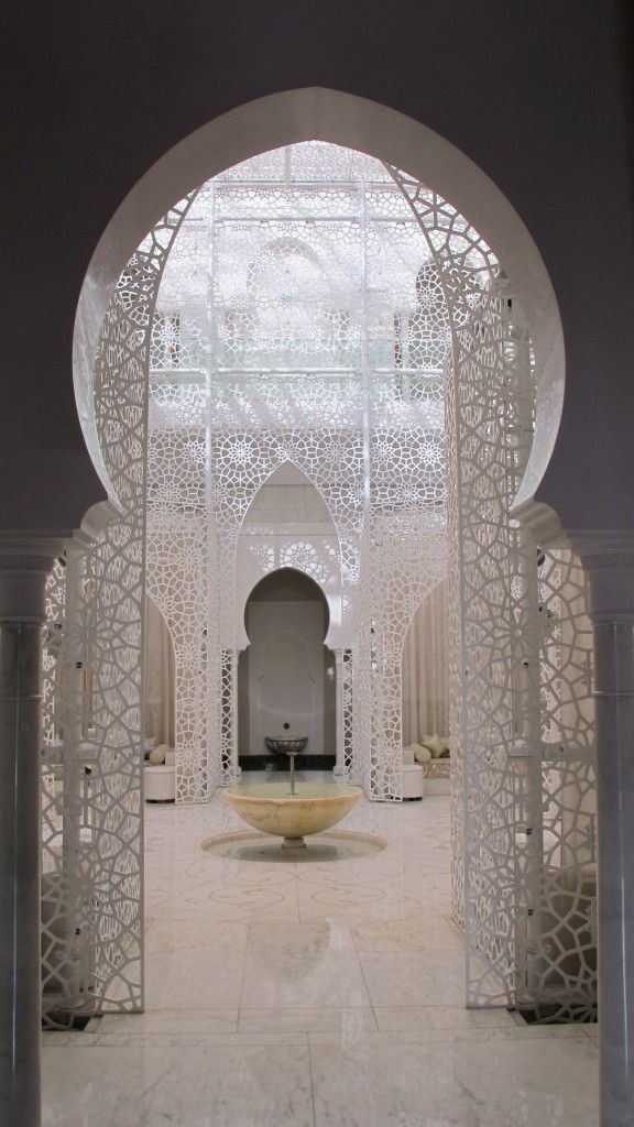 crazy gorgeous. the royal mansour hotel, marrakech