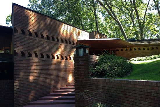 Pin by james butler on frank lloyd wright usonian homes for Palmer house ann arbor