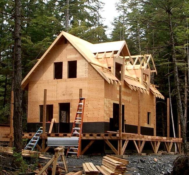 Owner Built 1 5 Story Cottage In Alaska Cabin Pinterest