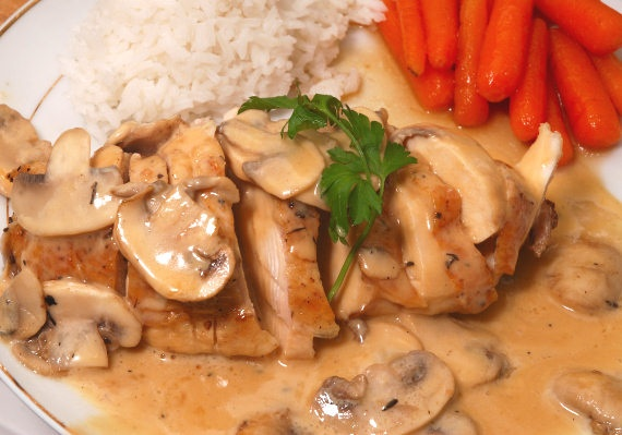 Chicken Normandy | Chicken | Pinterest