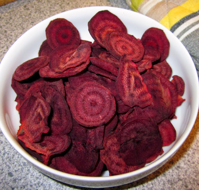 Red Beet Chips | Creative cookery | Pinterest
