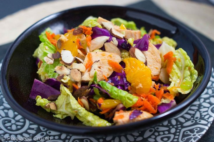 chinese chicken salad | Salads (of All Varieties) | Pinterest