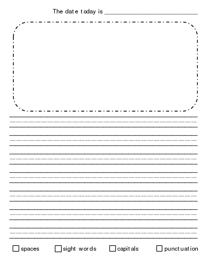 kindergarten journal writing paper Looking at writing kindergarten: writing sample 3 kindergarteners are often enthusiastic writers and they will weave writing activities into ready for kindergarten.