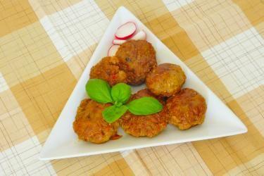 Cajun Appetizer Meatballs | gapeaches.org A Jenn Appetizer idea