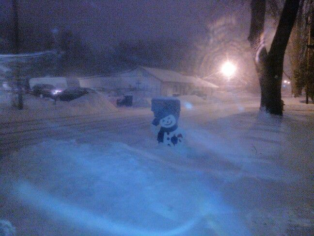 More snow storm, Jan 26,2014