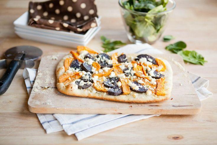 Naturally Ella | Sweet Potato and Feta Pizza | Naturally Ella - mostly ...