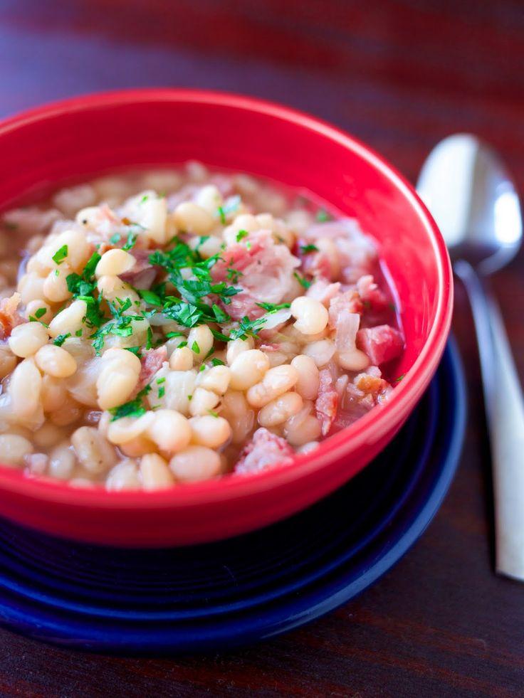 Pressure Cooker Senate Bean Soup - from @DadCooksDinner