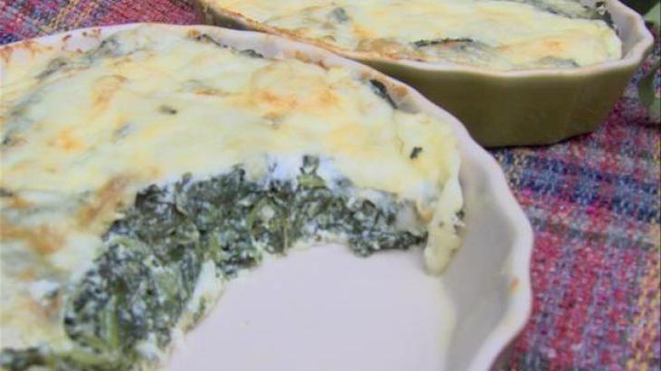 Spinach Muenster Quiche Recipe — Dishmaps