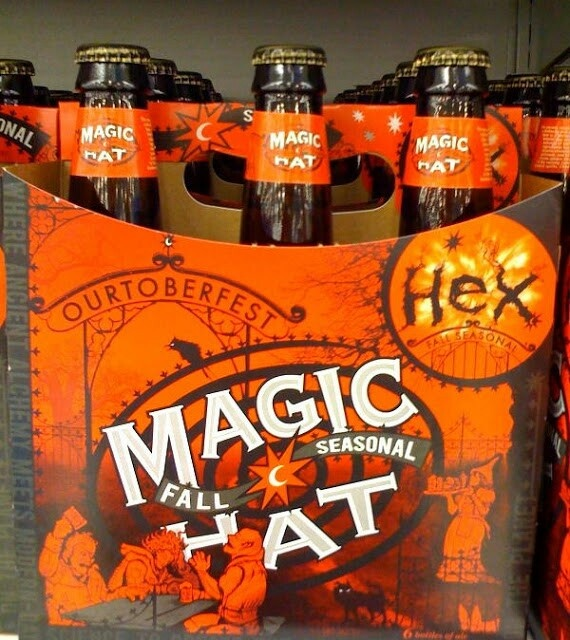 Magic hat seasonal hex beer